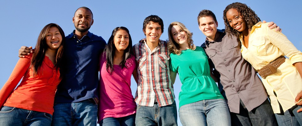 teenagers adolescence and young people